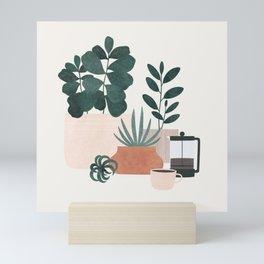 Coffee & Plants x The Sill Mini Art Print