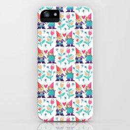 Gnome Love Pattern iPhone Case