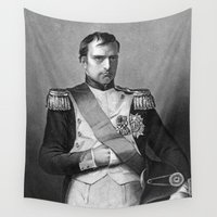napoleon Wall Tapestries featuring Napoleon by Palazzo Art Gallery