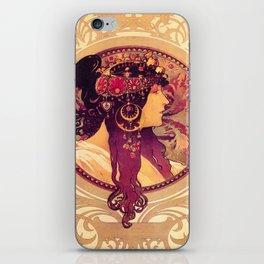 Alphonse Mucha, Art Nouveau iPhone Skin