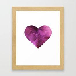 Love Travels Framed Art Print