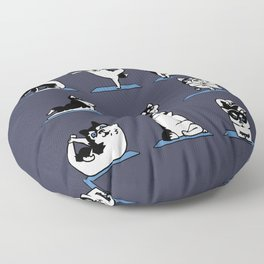 Husky Yoga Floor Pillow