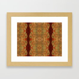 temple blood ELM THE PERSON Framed Art Print