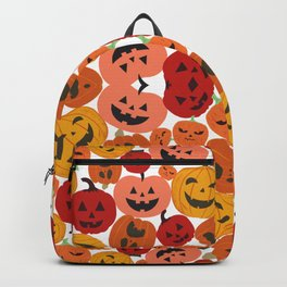 A lot of pumpkins Backpack