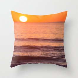 South Ponto Sunset 02 Throw Pillow