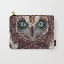 Owl Dream Catcher Carry-All Pouch