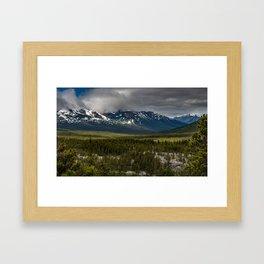 Yukon Wilderness Framed Art Print