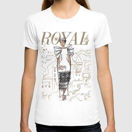 Hanna Royal T-shirt