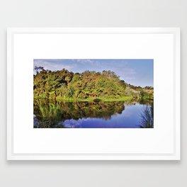Little Waipa Framed Art Print