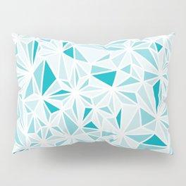 geo blue Pillow Sham