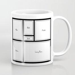 Little Apartment Plan Coffee Mug