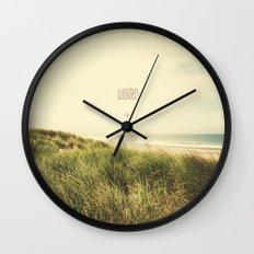 wonder + wander Wall Clock
