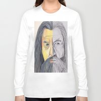 gandalf Long Sleeve T-shirts featuring Gandalf   by RidnelSilva