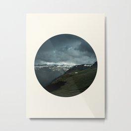 Scandinavian Landscape Metal Print