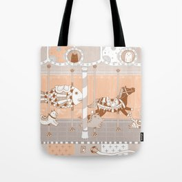 The Unpluged Amusement Park Tote Bag