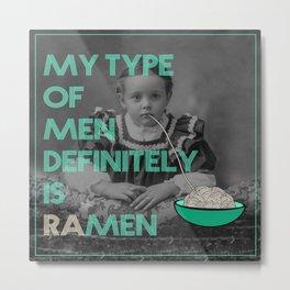 ramen lover Metal Print