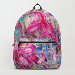 pattern paint splash home decor Backpack
