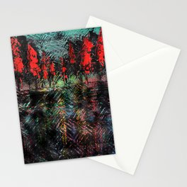 Urban Embers Stationery Cards