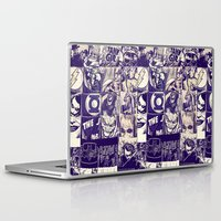 comic Laptop & iPad Skins featuring Comic Land by Ewan Arnolda