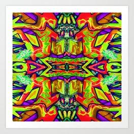 Pattern-226 Art Print
