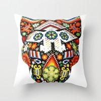 jaguar Throw Pillows featuring Jaguar by Jaramillo Velez