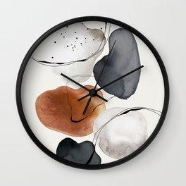 Abstract World Wall Clock