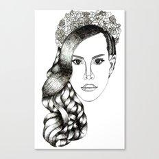 Lana Del lovely Canvas Print