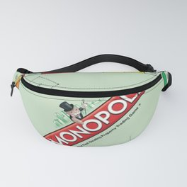Monopoly Print Currency Game Fanny Pack