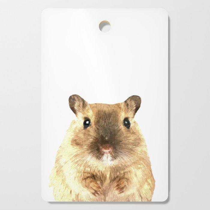Hamster Portrait Cutting Board