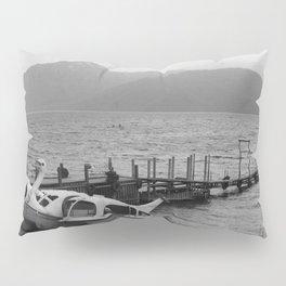 Nikko mountain lake 001 Pillow Sham