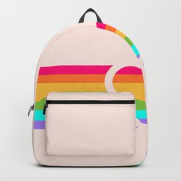 Rainbow Heart Backpack