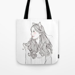 sweet babe *GirlsCollection* Tote Bag