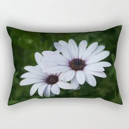 Friendship - Two African Daisies Rectangular Pillow