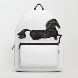 Horse Geometric Silhouette Backpack