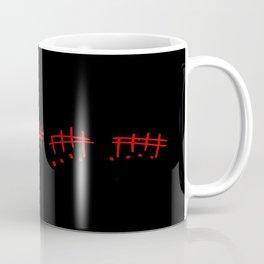melody-music,melody, mark, music notation,fun, solfeggio, pleasure, rythm, dance, art Coffee Mug