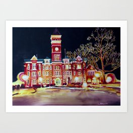 Clemson University 1 Art Print