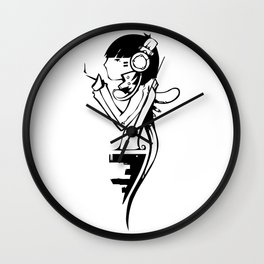 Bandit Queen Wall Clock
