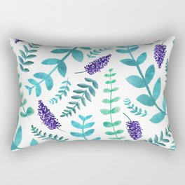 Greenery Pattern II Rectangular Pillow