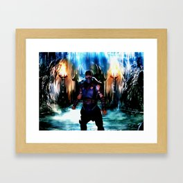 Subzero Framed Art Print