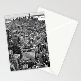 New York City black & white Stationery Cards