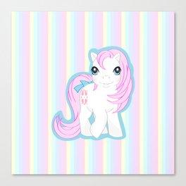 g1 my little pony baby Sundance Canvas Print