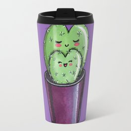 Cactus mom kawaii Travel Mug