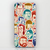 faces iPhone & iPod Skins featuring Faces by Lawerta