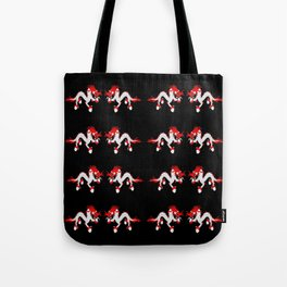dragon and fire (druk) Tote Bag