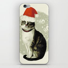 Vintage Christmas (Cat Edition 3) iPhone Skin