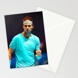 Rafael Nadal Tennis Stationery Cards