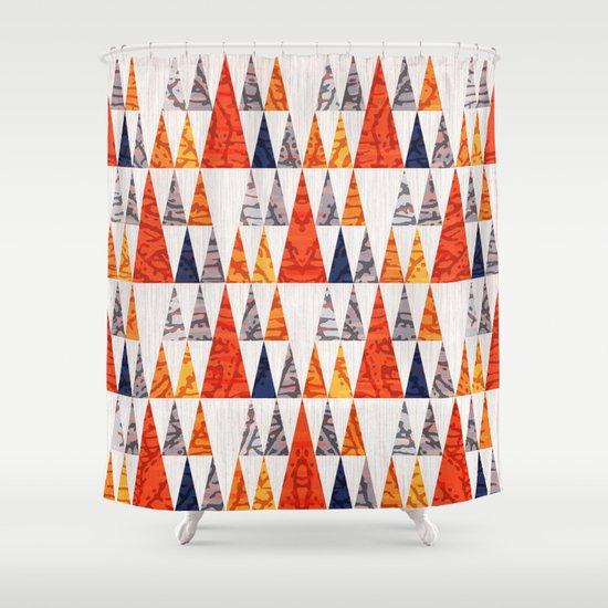 TEEPEE TOWN Shower Curtain