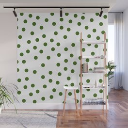 Simply Dots in Jungle Green Wall Mural