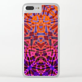 Ethnic Tribal Pattern G316 Clear iPhone Case