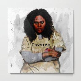 Taystee Metal Print